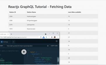Reactjs GraphQL Tutorial - Fetching Data