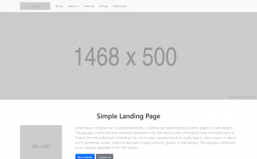Vue 3 Bootstrap 5 Responsive Template Free Download
