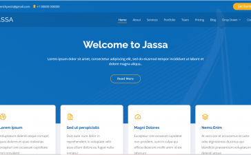Angular 12 Bootstrap 5 Best Single Page Template 2021