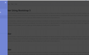 Angular 12 Bootstrap 5 Popup Sidebar Template