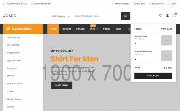 Angular 12 J-shop Ecommerce Template Free