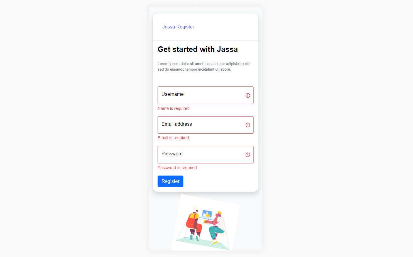 Ionic 5 Angular 12 Services User Registration with PHP MySQL