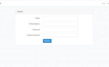 Laravel 8 AUTH Create User Login Register Pages - Part 1