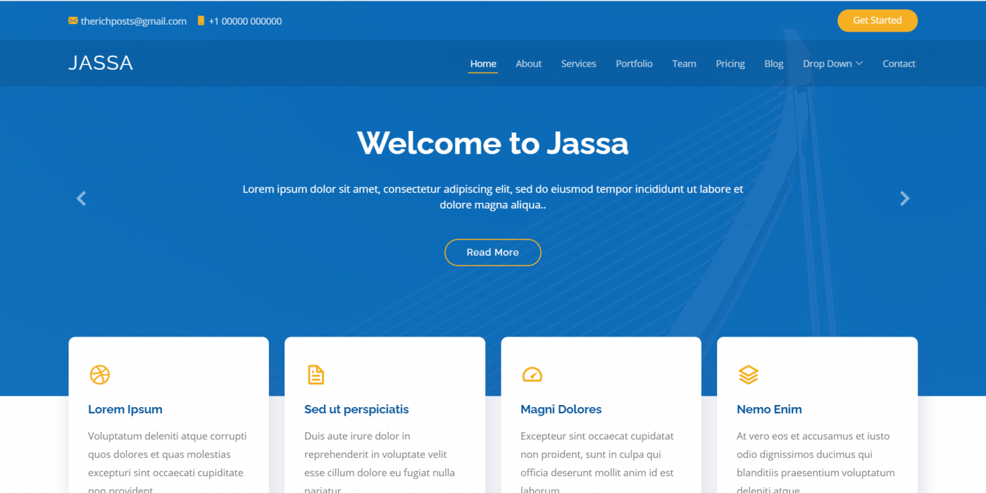 Reactjs Bootstrap 5 Best Single Page Template 2021
