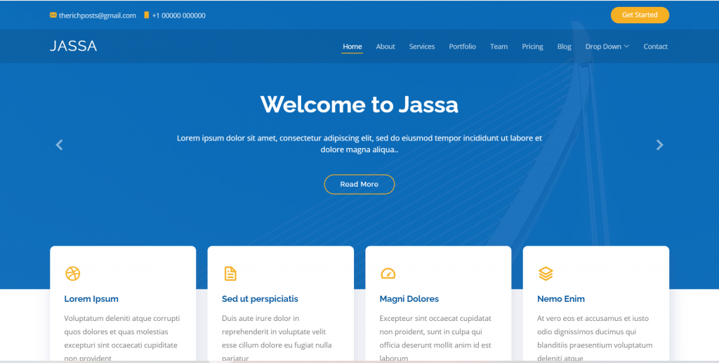 Vue 3 Bootstrap 5 Best Single Page Template 2021