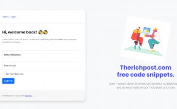 Vue 3 Bootstrap 5 User Login Registration Forms Show Hide on Button Click
