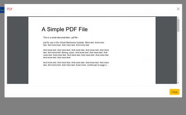 Vue 3 Open PDF file inside Bootstrap 5 Modal POPUP