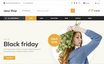 Angular 12 Free Responsive Ecommerce Template Free Download