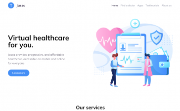 Asp.Net Core 5 Bootstrap 5 Healthcare Template Free