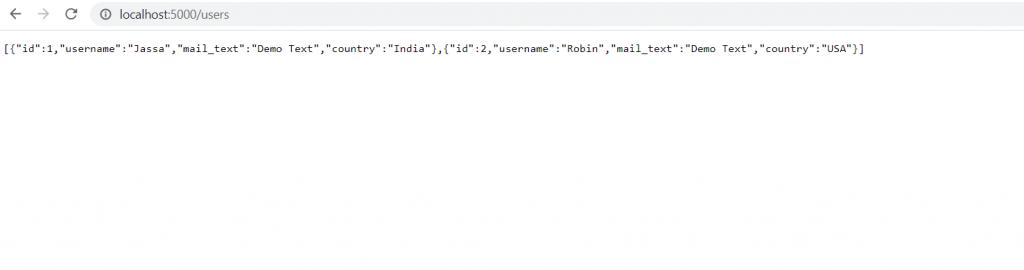 Nodejs Web API