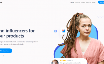 Vue 3 Bootstrap 5 Beautiful Fully Responsive Landing Page Template Free