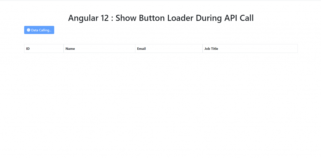 Show Loader on Button During API Call in Angular 12